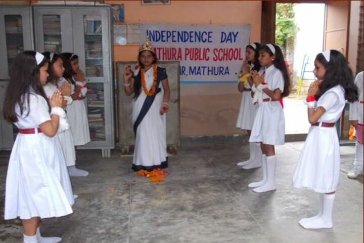Mathura Public School-Independence day