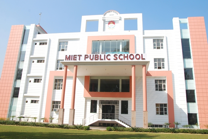 Miet Public School-Campus view