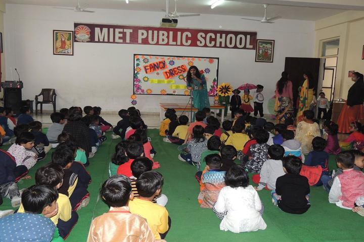 Miet Public School-Fancy dress Competition