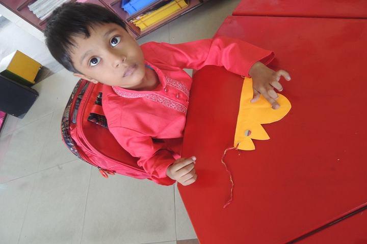 Miet Public School-Rakhi Making