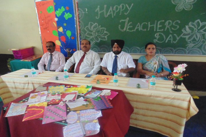 Milton Educational Academy-Teachers day