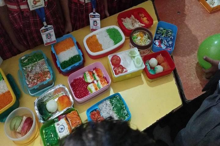 Minds Eye International School-Food Fest