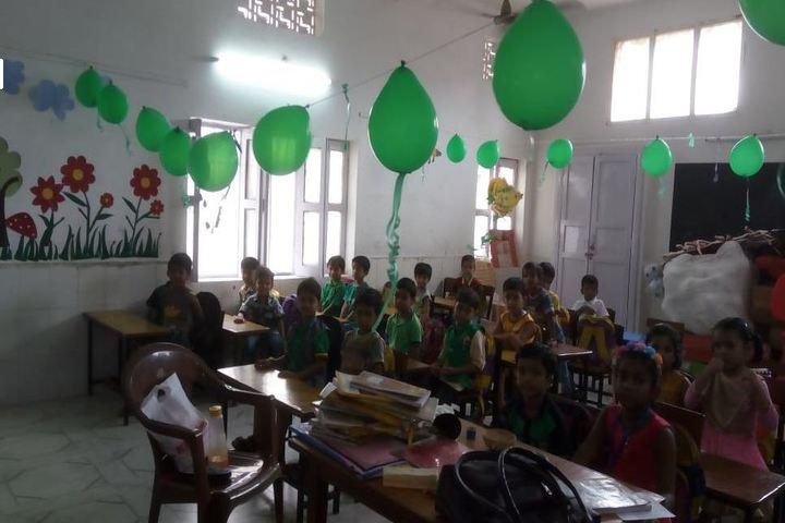 Mirzapur Lions Public School-Classroom Decoration Activity