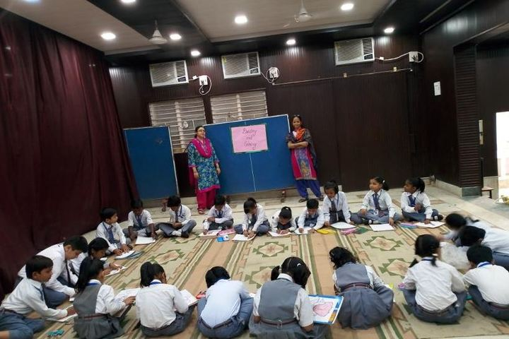 Mirzapur Lions Public School-Drawing Competition