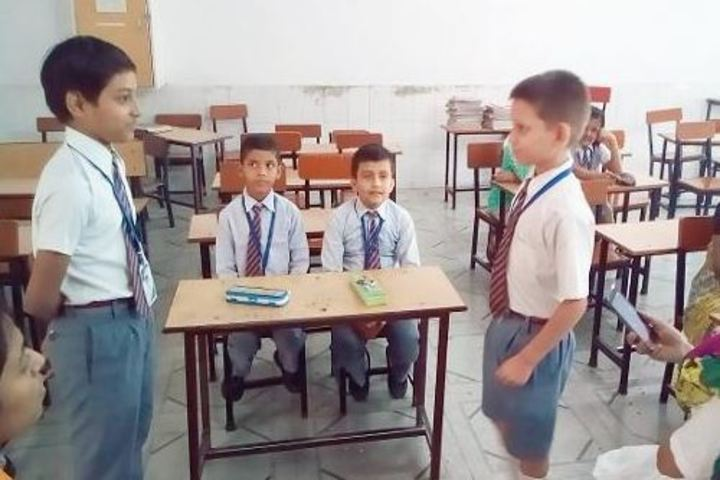 Mirzapur Lions Public School-Spell Bee Competition
