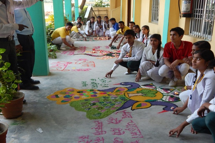 MJRP Academy-Rangoli Competition