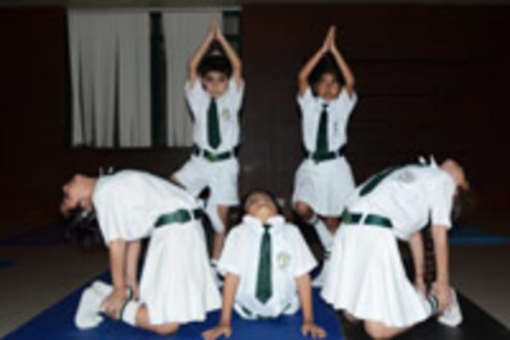 The Diksha School-Yoga Activity