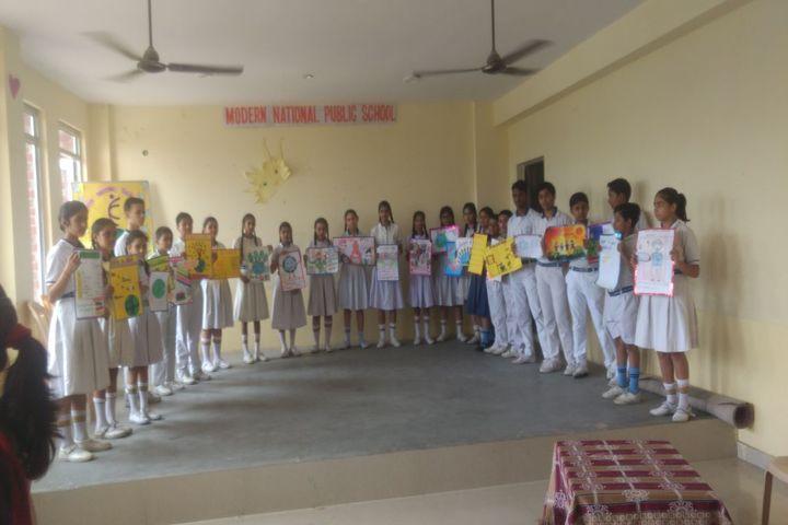 Modern National Public School-Earth day