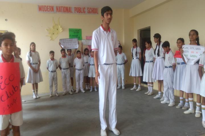 Modern National Public School-Eco-club Activity
