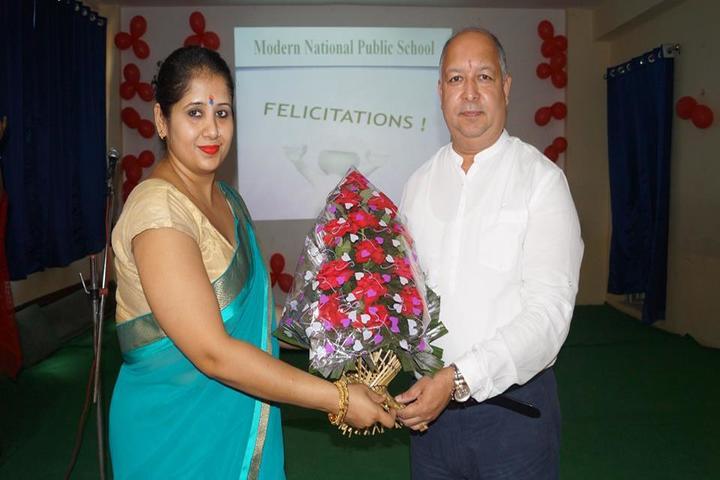 Modern National Public School-Felicitation Ceremony