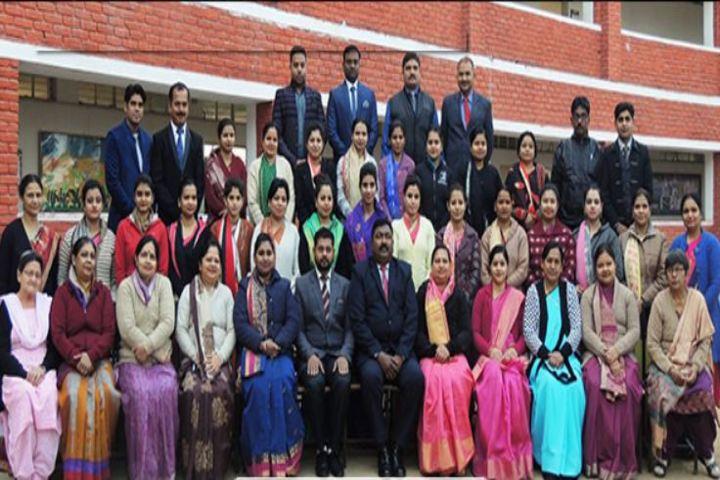 Modern Public School-Faculty group