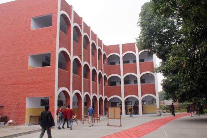 Modern Public School-Building