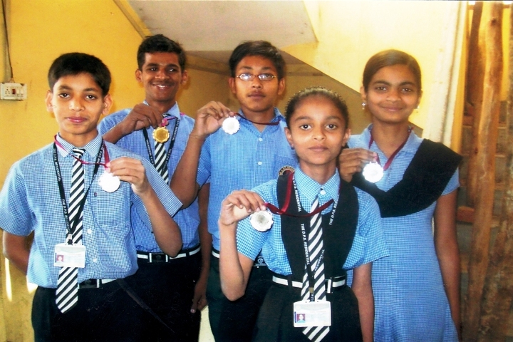 The Divine Public School-Medals