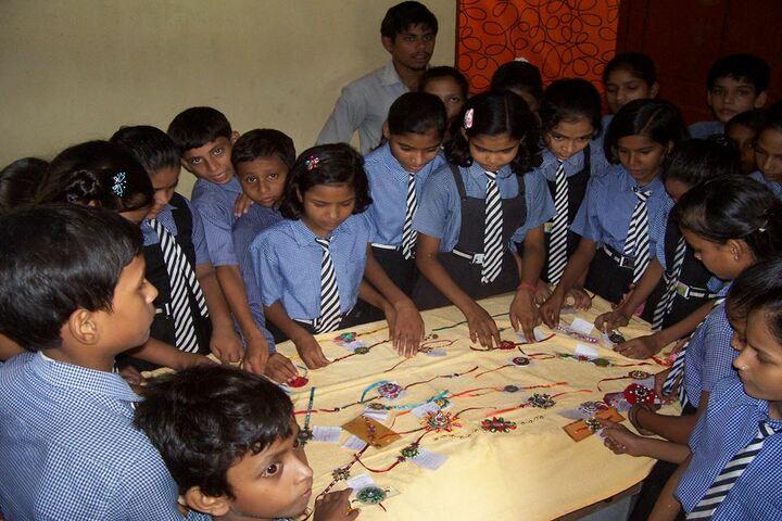 The Divine Public School-Rakhasha Bandhan