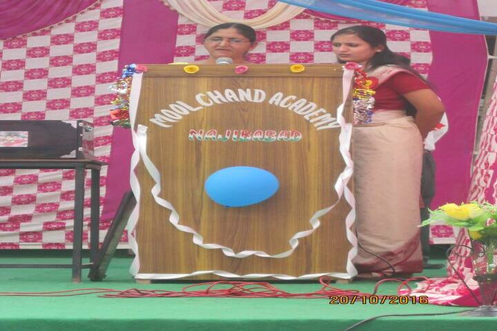 Moolchand Academy-speech