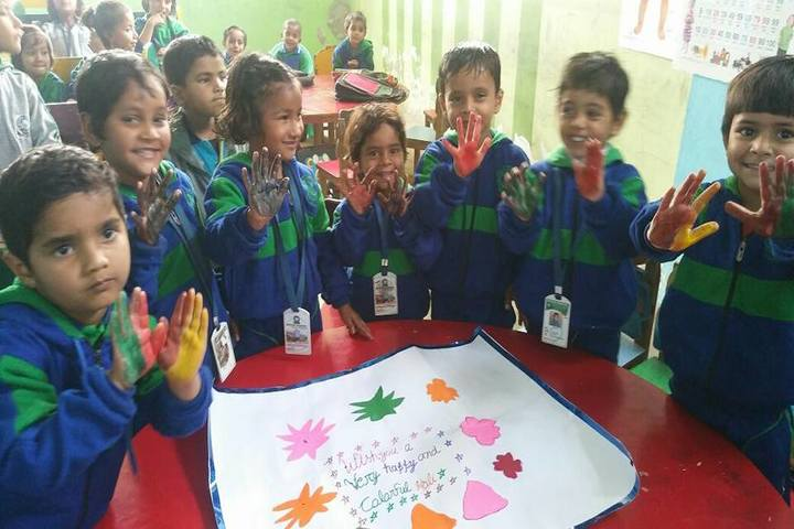 Mother Academy - holi celebrations