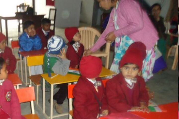 Mother Divine Public School-Classroom