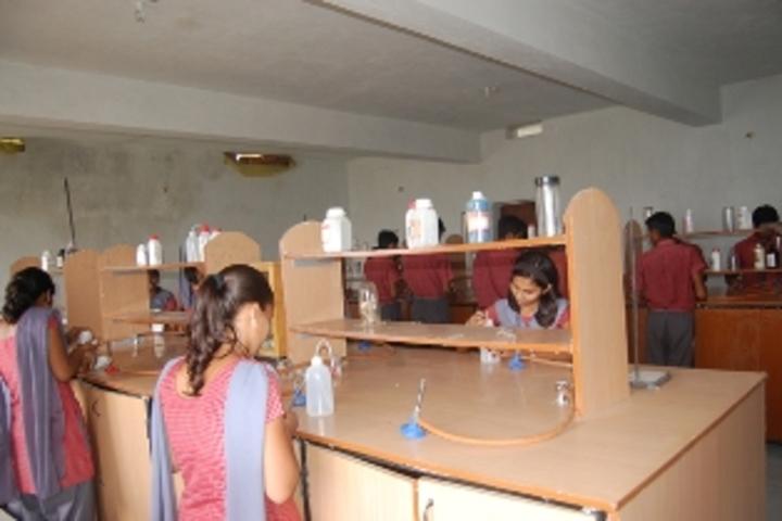 The Earth Public School-Chemistry Lab