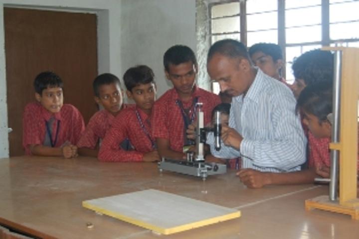 The Earth Public School-Physics Lab