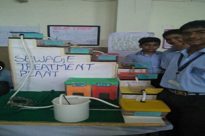 Mother Sita Public School-Science Exhibition