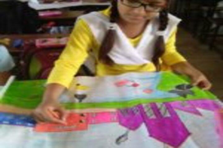 The Jaintpur Public School-Painting Competition