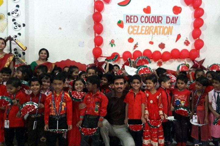 Mount Litera Zee School-Red Colour Day-Celebrations