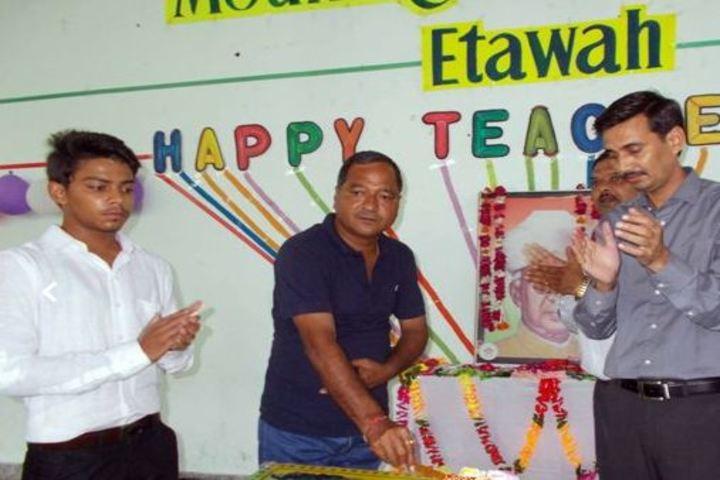 Mount Litera Zee School-Teachers Day