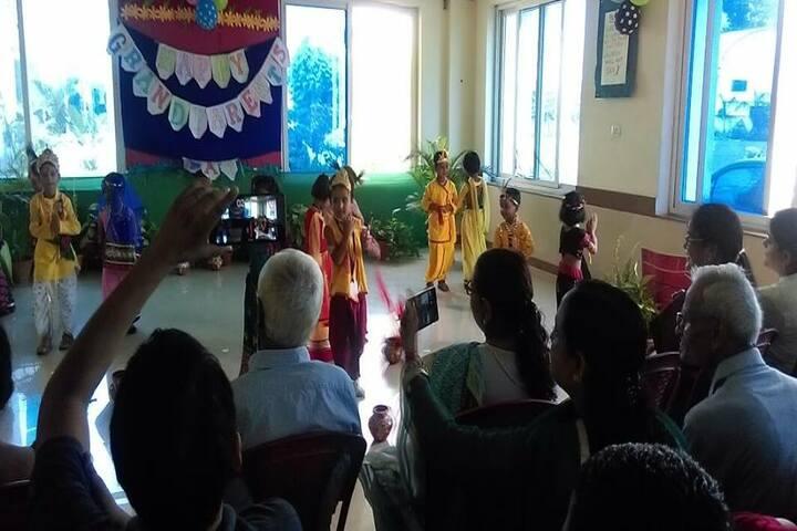 Mount Litera Zee School - Grand parents day