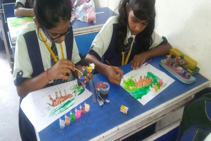 Mount Litera Zee School-Drawing Competition