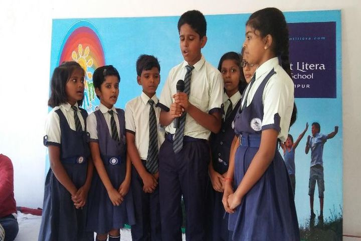 Mount Litera Zee School-Singing Activity
