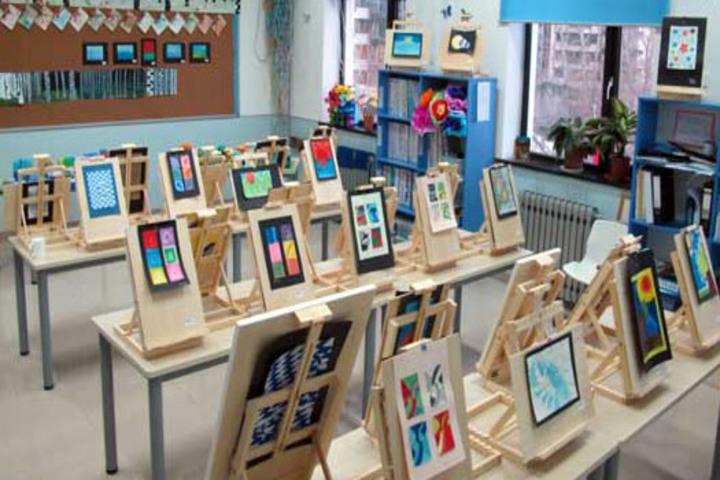 Mountain View City Public School-Art Room