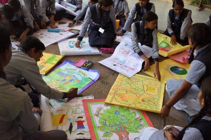 Munshi Ramanand Singh School - Drawing