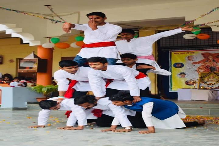 Munshi Ramanand Singh School - On Republic day