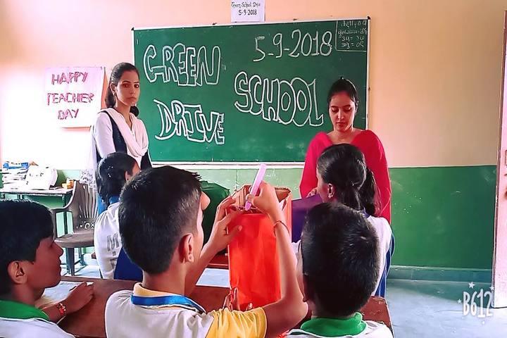 Munshi Ramanand Singh School - On Teachers day