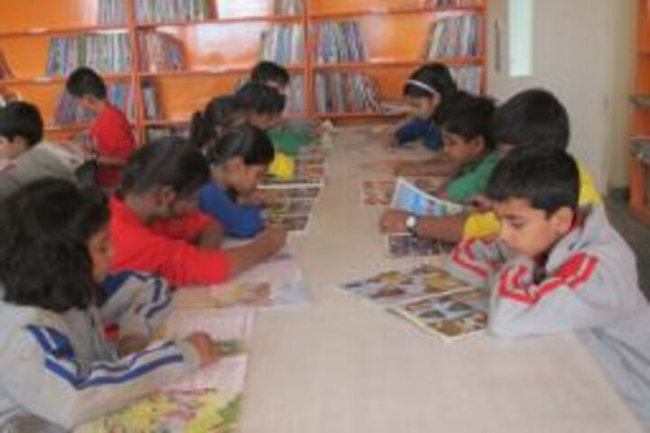 The Tribhuvan School-Library