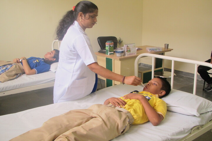 The Tribhuvan School-Medical Room