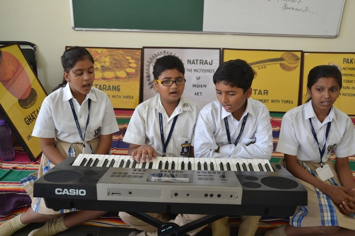 The Tribhuvan School-Music Room