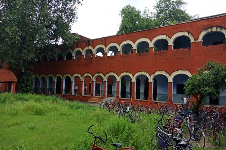 NE Railway Senior Secondary School-Campus Back View