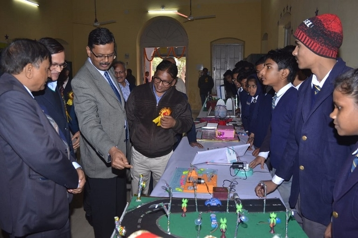 NE Railway Senior Secondary School-Science Exhibition