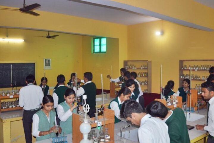 N R Public School-Chemistry Lab