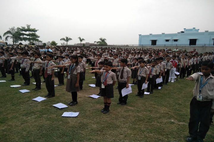 N R Public School-Assembly