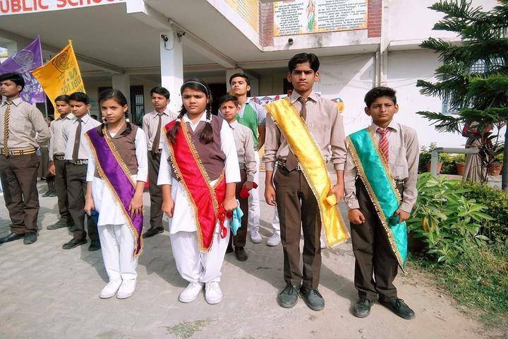 N R Public School-Investitiure Ceremony