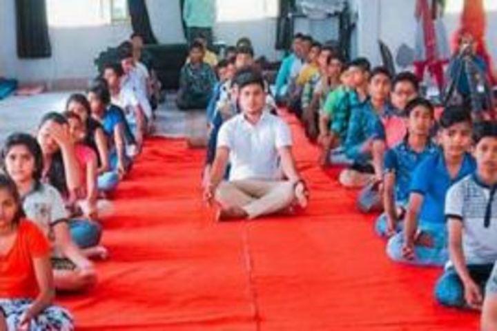 N R Public School-Yoga Day