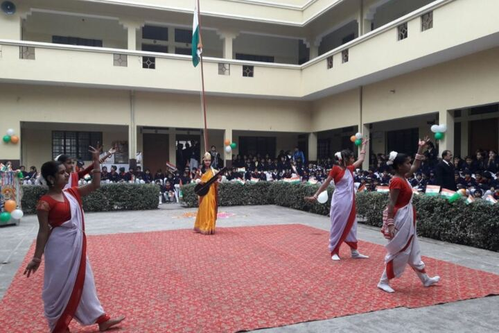 N S Children Academy-Independence Day