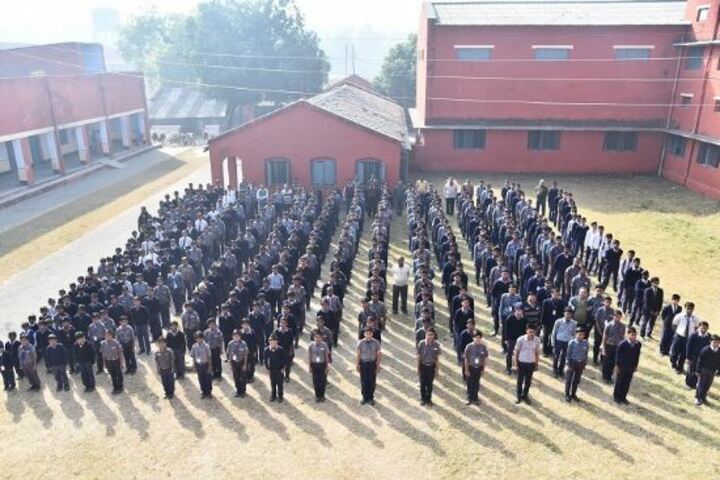NE Railway Boys Inter College-Assembly