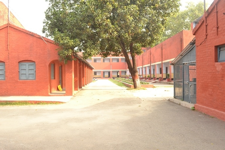 NE Railway Boys Inter College-Campus Back View