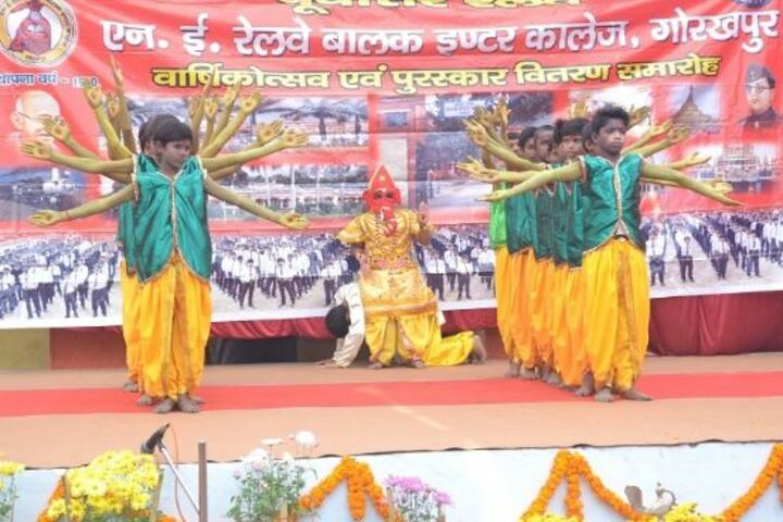 NE Railway Boys Inter College-Cultural Event