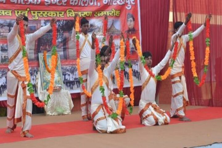NE Railway Boys Inter College-Dance Activity