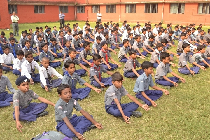 NE Railway Boys Inter College-Yoga Activity