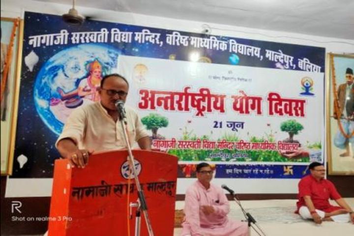 Naggaji Saraswati Vidya Mandir-International Yoga Day